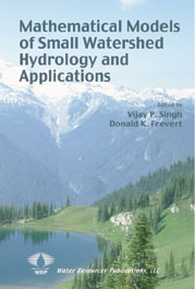 Mathematical Models of Small Watershed Hydrology and Applications - WRP LLC