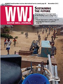 Water Well Journal November 2015