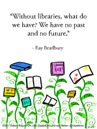 Quote-RayBradburyLibraries-200
